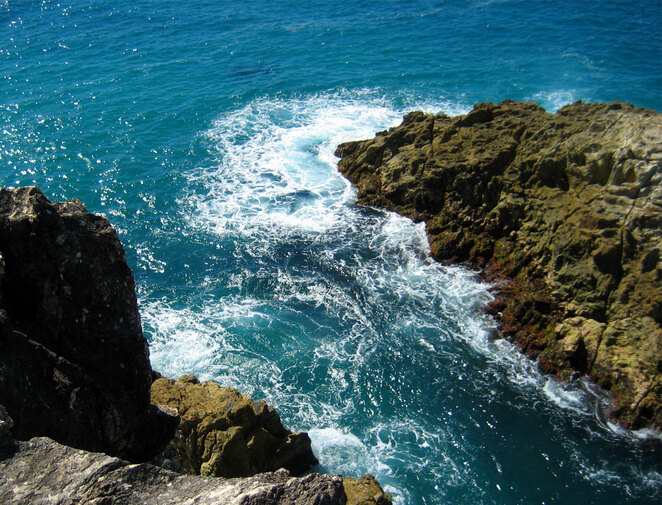 The Gorges Walk is a lovely short walk worth doing along the shoreline of North Stradbroke Island