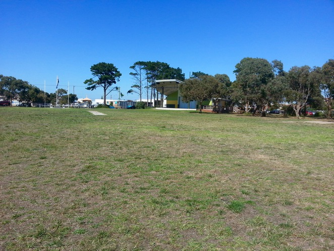 Ocean Grove Park, Grass, Grove Pavillion, Outdoor Cinema, Bellarine