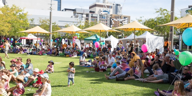 piazzarama, city of perth events, school holiday events perth, heroes in uniform event, free things to do in school holidays perth, free school holiday events in perth