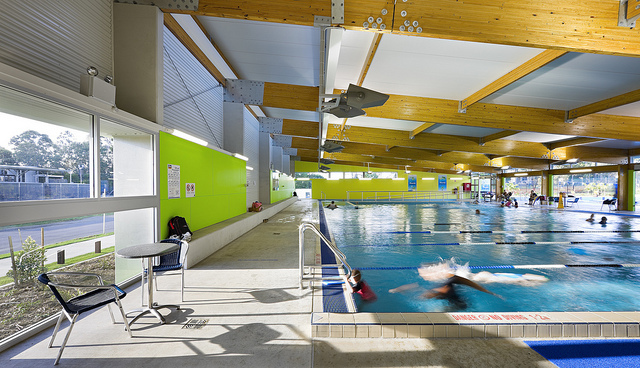 Runcorn's indoor pool (Courtesy of Brisbane City Council)