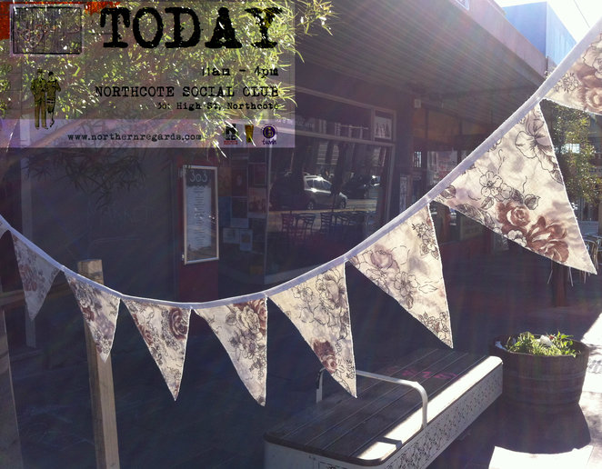 Recycled Bunting