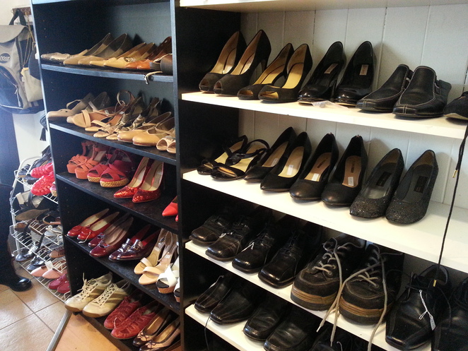 second hand shoes, indooroopilly