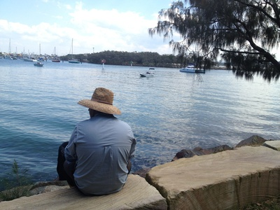 Start at the Mooloolah River and walk up the headland