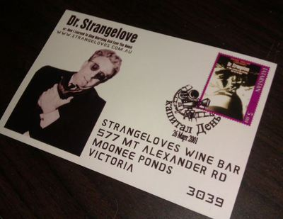 Strangeloves Postcard