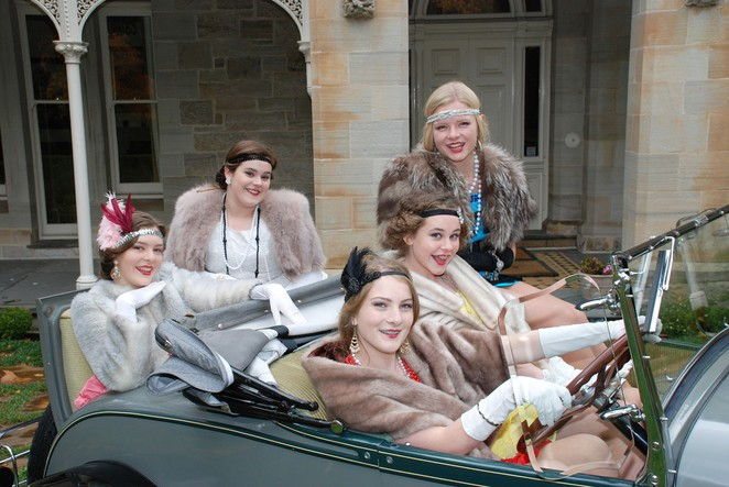 The characters of Flappers, Hills Youth Theatre