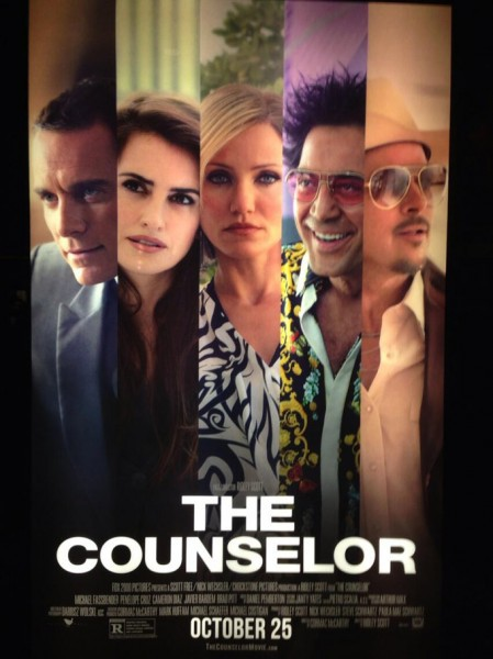 the counselor, film review, ridley scott, cormac mccarthy