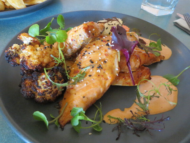 The Mile End Hotel, Roasted Chilli Miso Salmon Belly, Adelaide