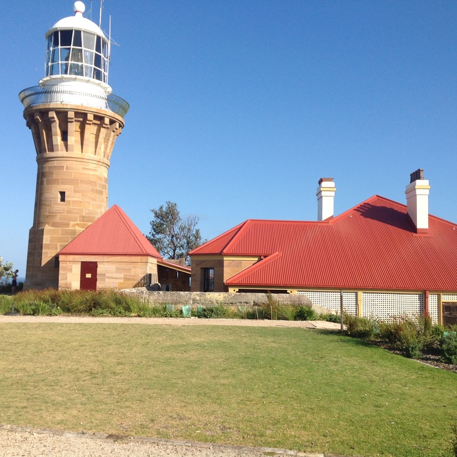 The palm Beach Lighthouse New easy walking path Pittwater walks