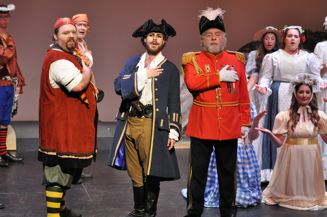 The Pirates of Penzance, Dolphin Theatre, The G & S Society of WA, Alan Needham, Magda Lisek, Ronald MacQueen