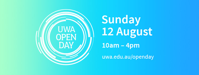 uwa open day 2018, the university of western australia, community event, fun things to do, education, universities, uni life, students, uni campus, activities, displays, entertainment, q&A, open day program