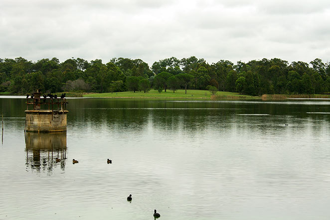 Walka water works lake and park