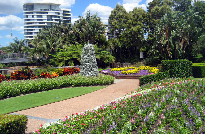 The Spectacle Garden at the Roma Street Parklands