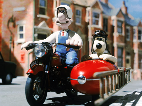 Wallace & Gromit in July