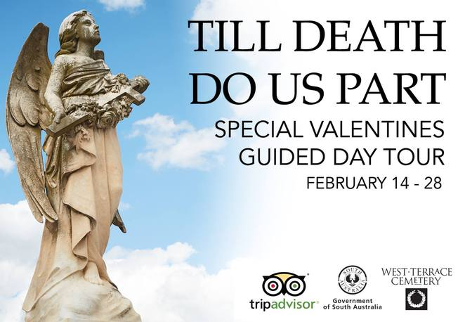 West Terrace Cemetery is offering something quite different for Valentines Day