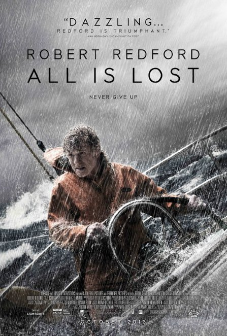 All is Lost, Robert Redford,
