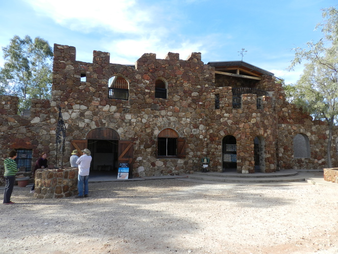Amigo's Castle, Lightning Ridge, Art Gallery, Castle, Ironstone, Gallery