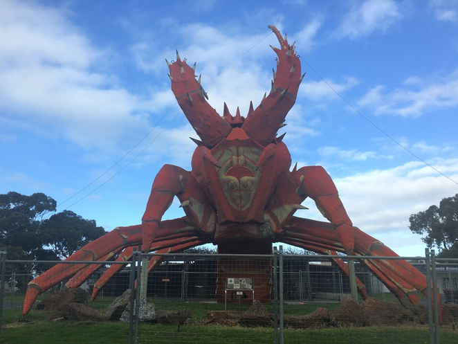 big things, australia, road trip, attraction, tourist, queensland, melbourne, adelaide, victoria, south australia, big lobster, kingston se, larry the lobster