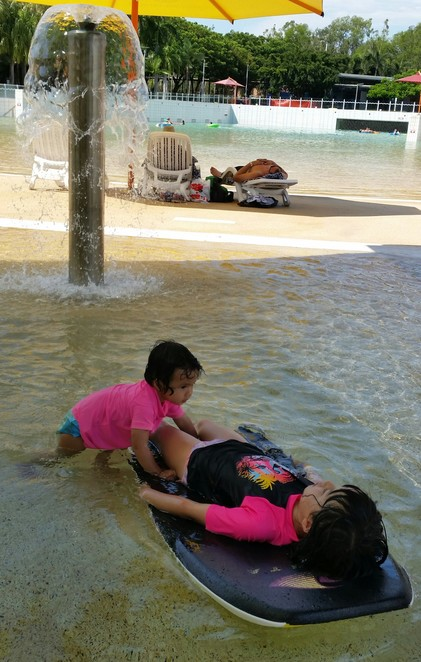 build-up, hot weather, Darwin, Northern Territory, water play, swimming