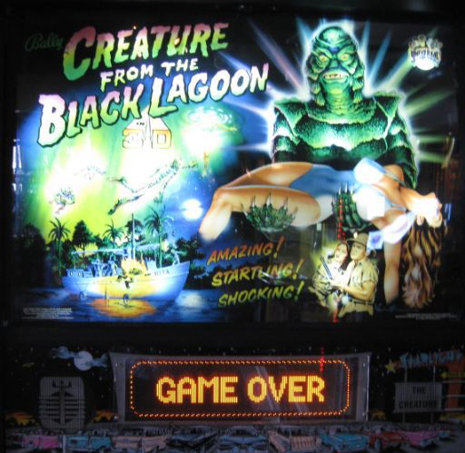 Creature Black Lagoon Game Over