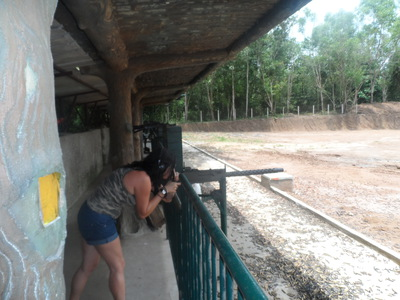 Cu Chi Tunnels, Vietnam War,Attractions,Saigon,Ho Chi Minh,Machine gun, AK47,M16