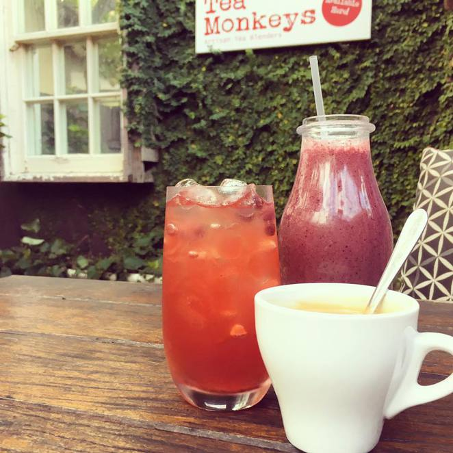 drinks Three Monkeys Cafe Newcastle
