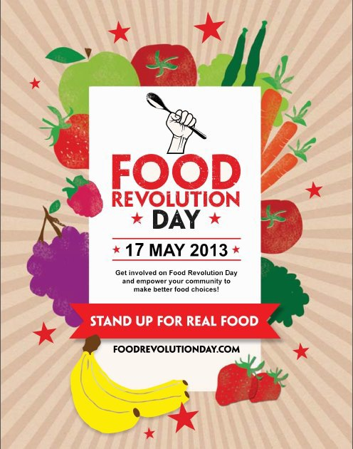 food revolution day, eat, jamie oliver, healthy, food, fun, recipe