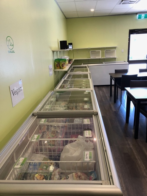 Formosa Vegetarian Eating House Kardinya Freezer Shop