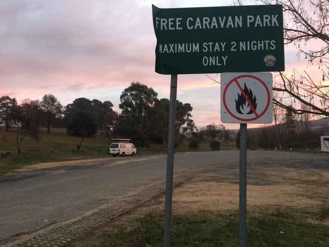 Free camp, Canberra, Gunning, vanlife, free, weekend away, outdoors