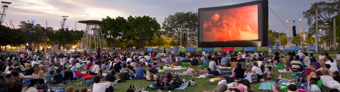 Free Movies By The Boulevard Sydney Olympic Park