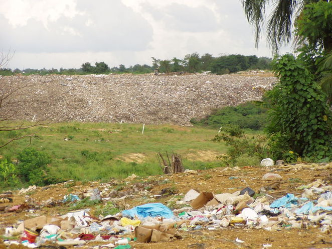 garbage dump, refuse, land pollution