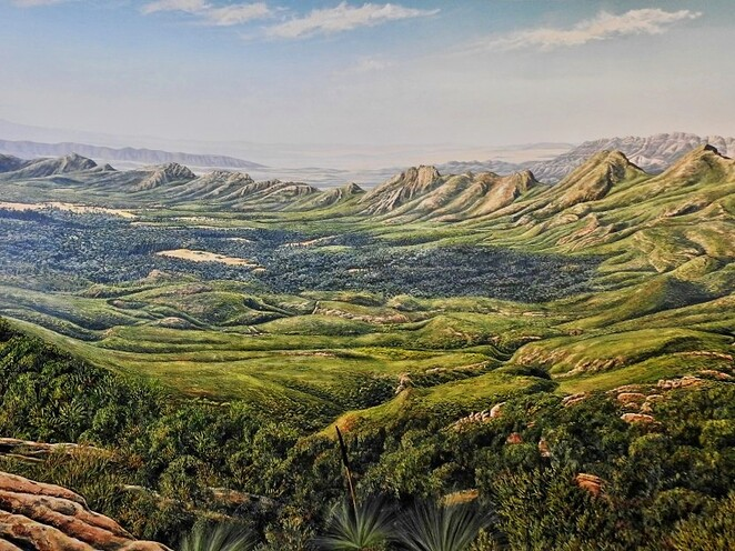 Hawker, Flinders Ranges, South Australia, Things to Do, railway, wilpena pound, panorama, jeff morgan gallery