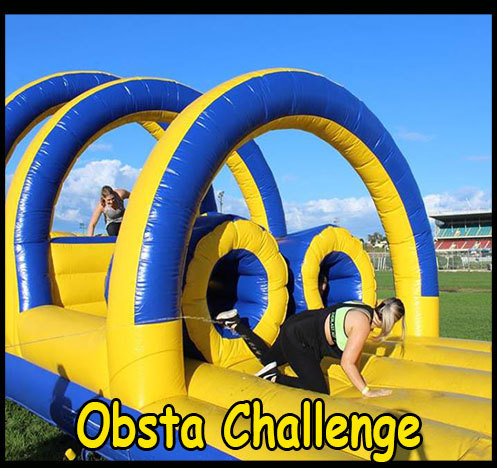 hoop,inflatable,obstacle,blue,obstasplash