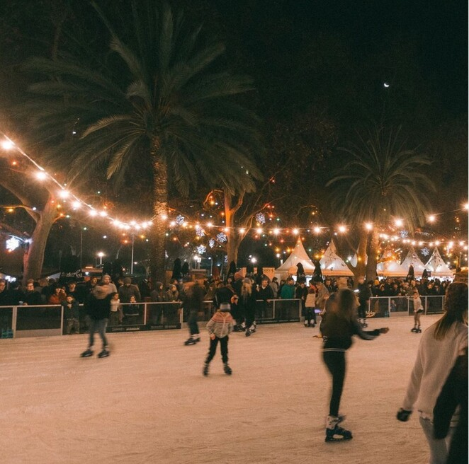 ice skating, ice rink, adelaide, july, 2021, winter