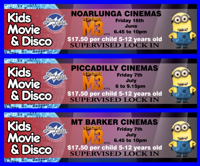 Kids Movie & Disco at Wallis Cinemas