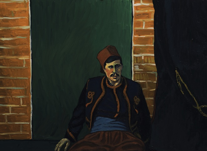 Loving Vincent, Loving Vincent film review, Loving Vincent movie review, movie reviews, film reviews, art, art films, Vincent van Gogh