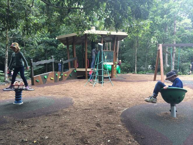 Part of the adventure playground at Mary Cairncross Scenic Reserve