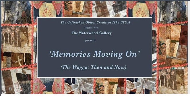 Memories Moving On - The Wagga, wagga, blamket, , Unfinished Object Creatives'