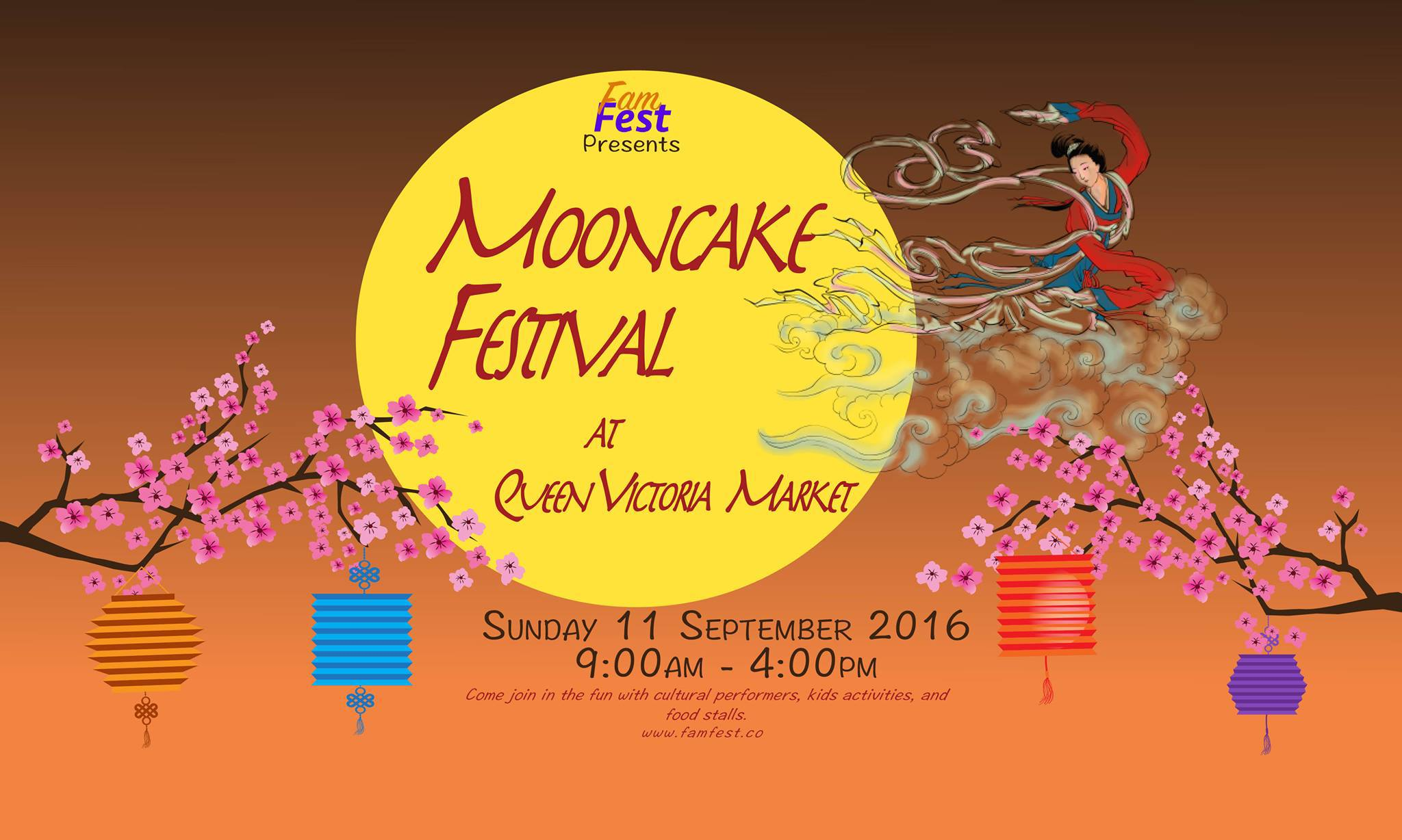 Mooncake Festival At Queen Victoria Market Melbourne