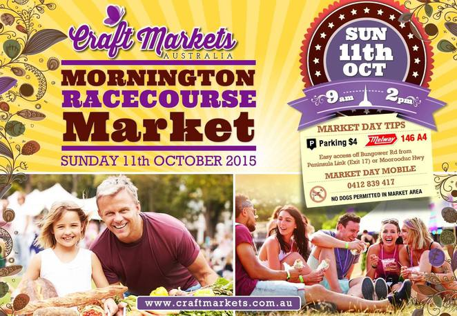 Mornington Racecourse market, mornington peninsula markets