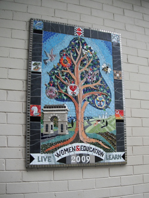Mosaic art, Burwood Park