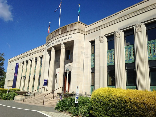 national film and sound archives, canberra, acton, events, arc cinema, exhibitions, historical, architecture, ACT,