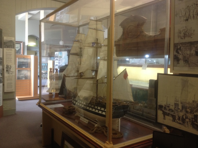 Model Ship at the Maritime Museum