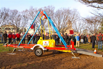 Hire the portable Liberty Swing for community events