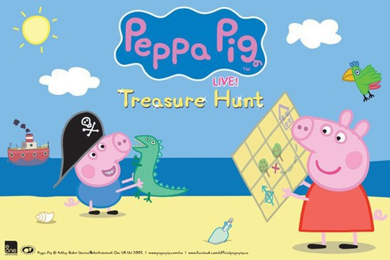 Peppa Pig Live! Treasure Hunt