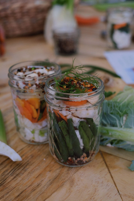 Biome-made pickles