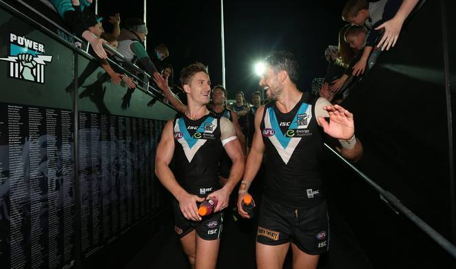 Port Adelaide Football Club, PAFC, Power, Port Adelaide Power, Adelaide Oval, Shanghai, Never Tear us Apart, Power to Win