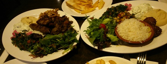 Sam's special and Mixed grill