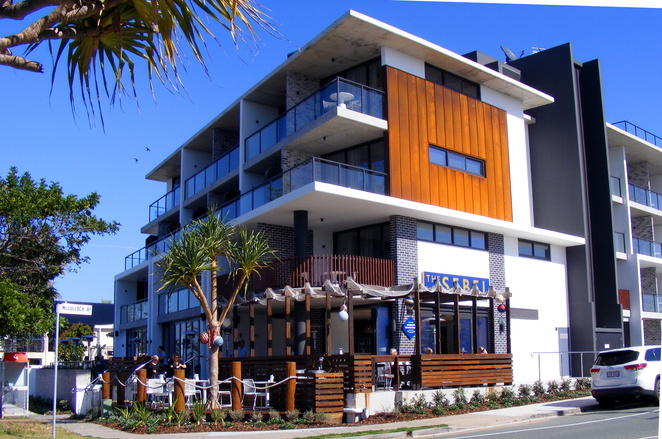 The Sebel Margate Beach is a nice boutique hotel overlooking the beach