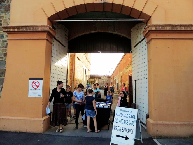 south australias history festival, history festival, fun things to do, free event, bookings essential, exciting things to do, about south australia, history sa, adelaide gaol, open day