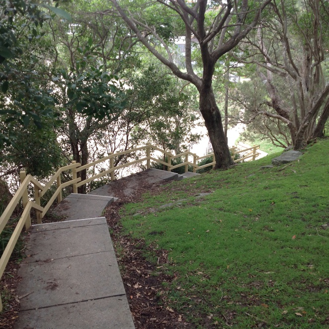 Steps To Little Manly Point Park